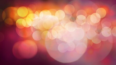 Colourful dancing lights, defocused shot Standard-Bild