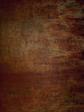 Rusty metal door texture in an abandoned factory