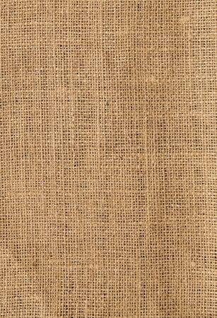 Close up photo of some rough burlap canvas