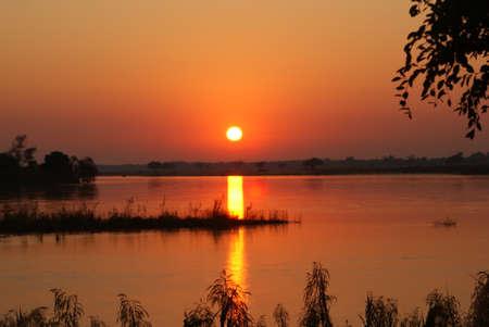 rood: Sunset Zambezi
