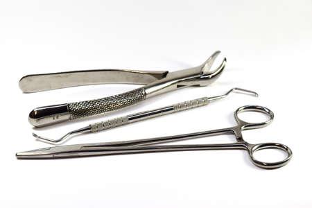 climatology: Dental tools in dental clinic