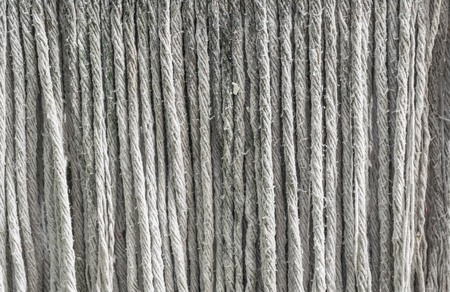 mop: old mop of rope Stock Photo