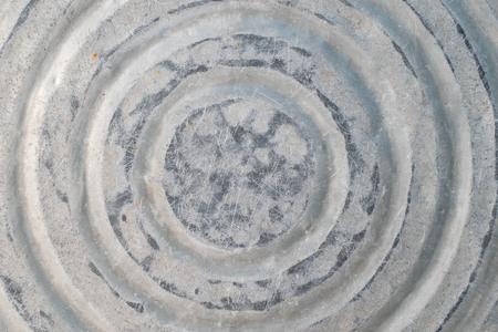 Houseware: old zinccoated washbowl
