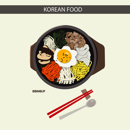 Korean FOOD (Bibimbup)