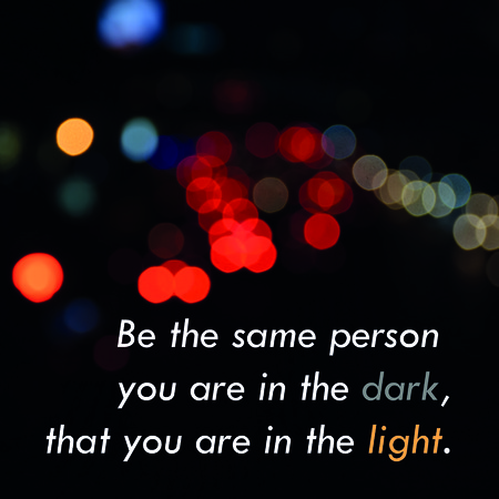 Inspirational Quote Words By Thomas S Monson On Light Bokeh Stock