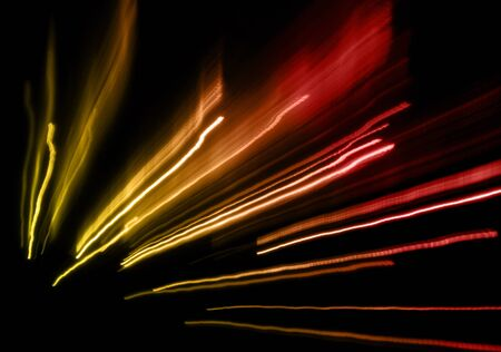 wander: Abstract night acceleration speed motion