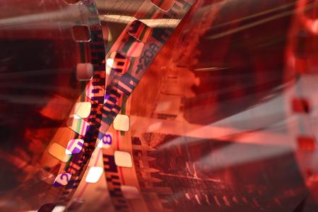 reel: film reel