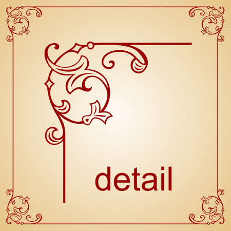 Decorative frame Stock Vector - 10314434