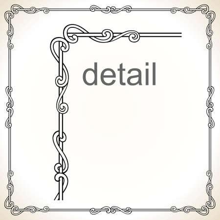 Decorative frame Stock Vector - 10314435