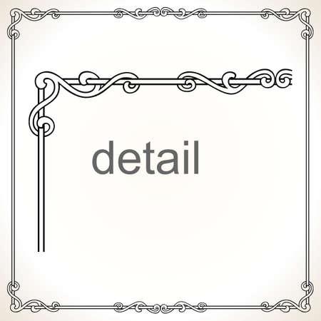 Decorative frame Stock Vector - 10314433