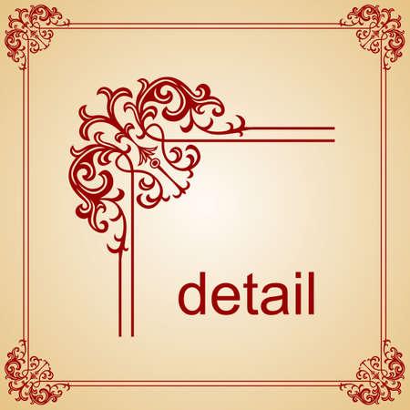Decorative frame  Stock Vector - 10314436