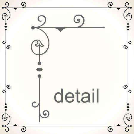 ornamental frame: Decorative frame