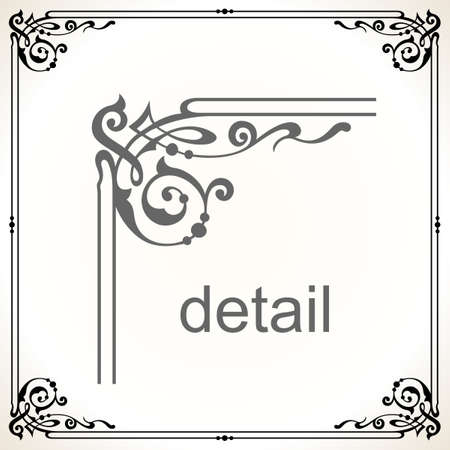 Decorative frame Stock Vector - 10303665