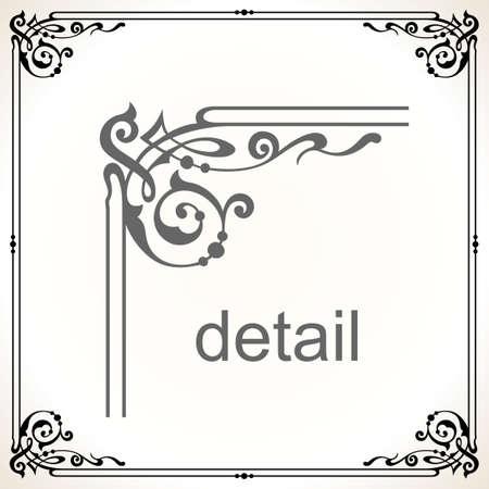 bookplate: Decorative frame