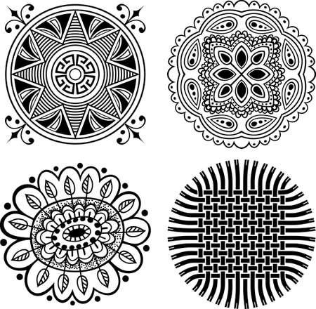 Decorative design elements Stock Vector - 10332534