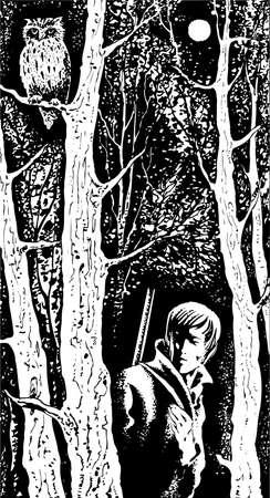 Hunter en la noche