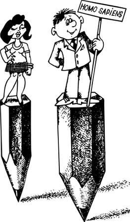 sapiens: Homo sapiens Illustration