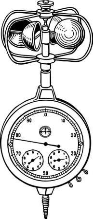 Viento de medición de velocidad