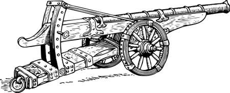 artillery: Cannon Illustration