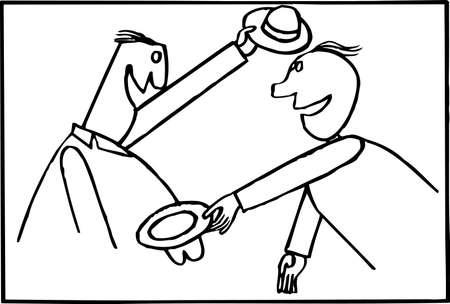greets: Meeting