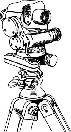 surveyor: Theodolite Illustration