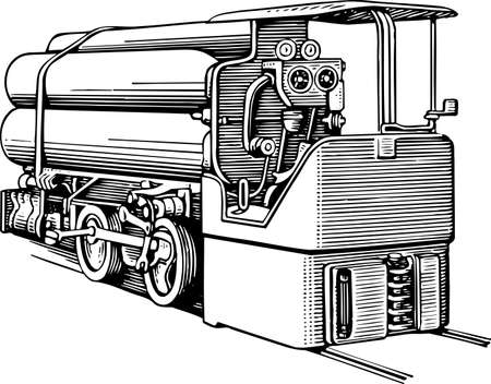 diesel: Train locomotive