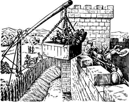 stockade: Battle Illustration