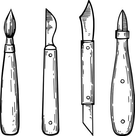 Painter tools Vector