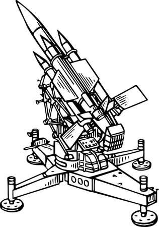 armaments: Rocket launcher