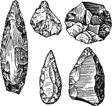arrowhead: Stone age