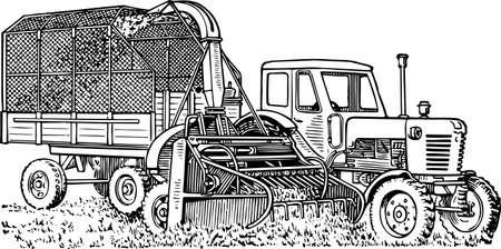 farm land: Truck