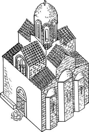 church building: Church Illustration