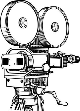 cinta pelicula: Pel�cula de c�mara Vectores