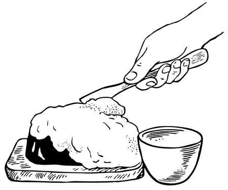 kneading: Cooking Illustration