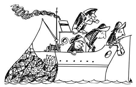 fishhook: Fishers Illustration