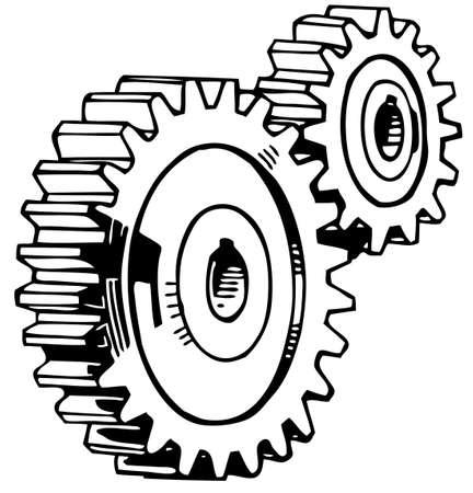 machine parts: Cog Stack