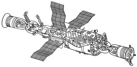 soyuz: Space station