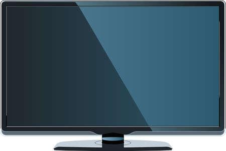full hd: Modern LCD monitor