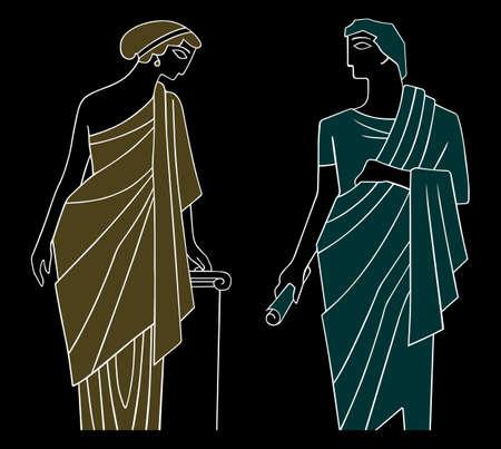 고대: 고 대 그리스 남성과 여성