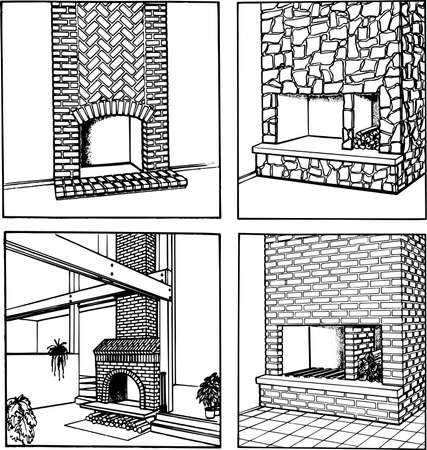 fireplaces: Some  fireplaces isolated