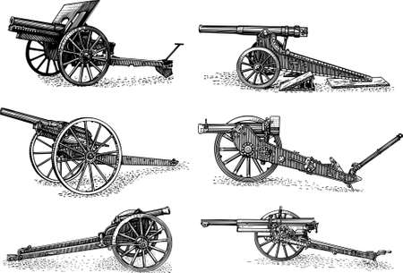 artillery: Cannons