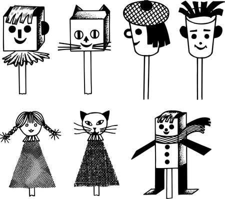rekodzielo: Handicraft dolls