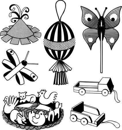 playroom: Handicraft toys