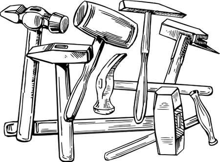 wood craft: Hammers