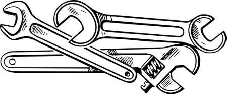 herramientas de mecánica: Llaves Vectores