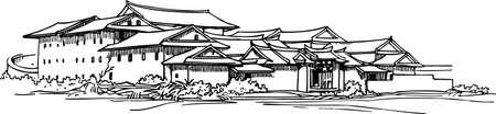 gyeongbokgung: Pavilion