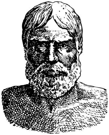 palaeolithic: Upper Palaeolithic Man (Homo Sungirensis) Illustration