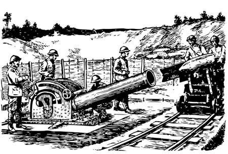 artillery: Heavy french mortar