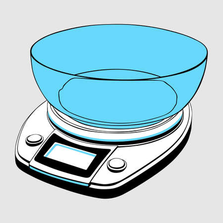 Kitchen scales Stock Vector - 13515199