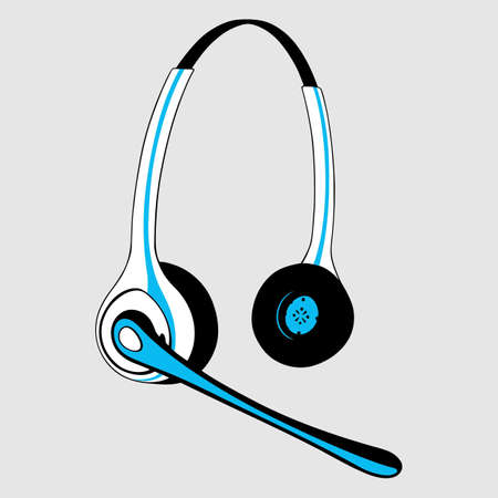 simplified: Headset with microphone